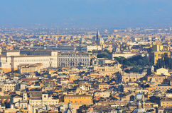 Panorama of Rome Royalty Free Stock Images