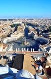 Panorama of Rome Stock Photo