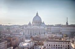 panorama- rome sikt Arkivbilder