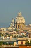 panorama- rome sikt Fotografering för Bildbyråer