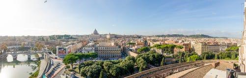 panorama- rome sikt Royaltyfri Bild