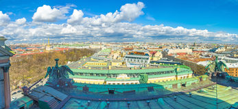 Panorama from the roof Royalty Free Stock Photos