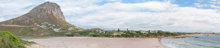 Panorama of Rooi Els town and beach Royalty Free Stock Images