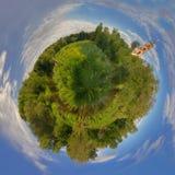 panorama Rosji latem zdjęcia stock
