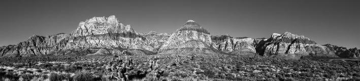 Panorama rosso di alta risoluzione del canyon della roccia Fotografia Stock