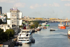 Panorama of Rostov-on-Don Royalty Free Stock Image
