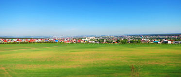 Panorama Rosyjscy pola Fotografia Stock