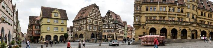 Panorama of Rothenburg Royalty Free Stock Photo
