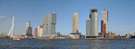 Panorama Rotterdam Image libre de droits
