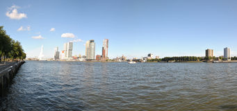 Panorama Rotterdam 1 Stockfotos