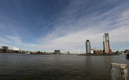 Panorama of Rotterdam Stock Photos