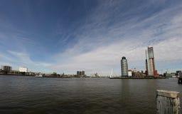 panorama Rotterdam Zdjęcia Stock