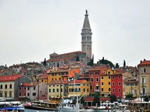 Panorama of Rovinj Royalty Free Stock Photography