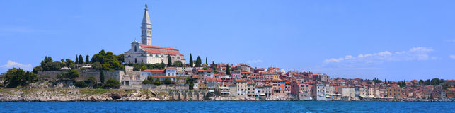 Panorama of Rovinj Royalty Free Stock Images