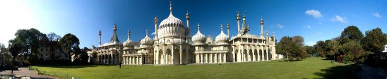 Panorama royal de pavillon de Brighton image libre de droits