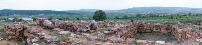 Panorama of ruins Royalty Free Stock Photo
