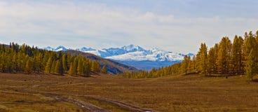 Panorama rural de montagne photographie stock