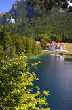 Panorama rural landscape in Bavaria Stock Photos
