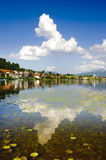 Panorama rural landscape in Bavaria Royalty Free Stock Images