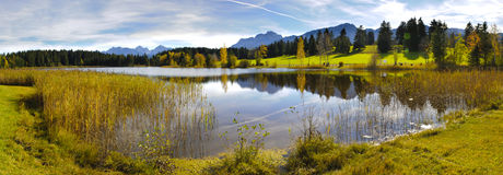 Panorama rural landscape in Bavaria Stock Images