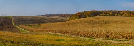 Panorama rural pitoresco Fotografia de Stock Royalty Free