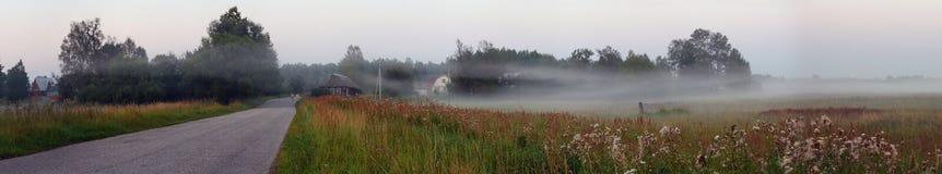 Panorama rurale Fotografie Stock