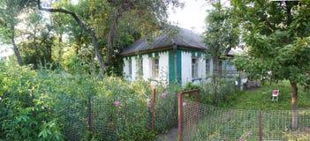 Panorama rurale della casa Fotografie Stock