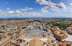 Panorama Rzym Obraz Stock