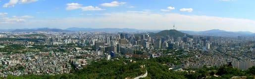 panorama Séoul Photo stock