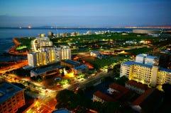 Panorama Südafrikas Cape Town Lizenzfreies Stockfoto
