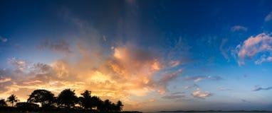 panorama słońca Obraz Stock