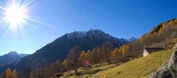 panorama słońce Obraz Stock