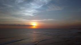 Panorama's van de zon Stock Foto