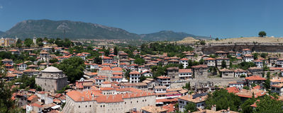 Panorama of Safranbolu, Turkey Royalty Free Stock Photo