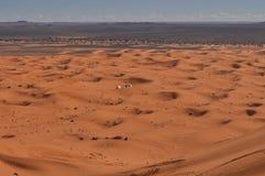 Panorama of Sahara desert Royalty Free Stock Photos