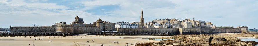 Panorama Saint-Malo Royalty Free Stock Image