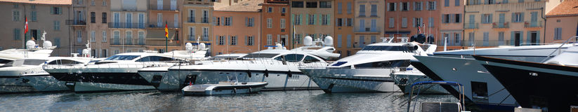 Panorama Saint Tropez Royalty Free Stock Photo