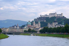 Panorama Salzburg Royalty Free Stock Photos