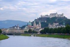 panorama Salzburg Zdjęcia Royalty Free