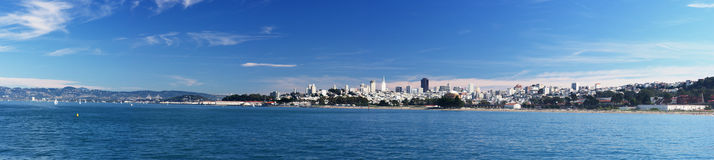 Panorama of San Francisco Stock Image