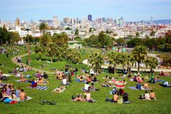 Panorama of San Francisco Royalty Free Stock Photography