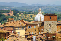 Panorama of San Gimignano, Italy Stock Photo