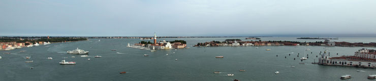 Panorama of San Giorgio island Stock Photos