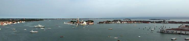 Panorama of San Giorgio island Stock Photos