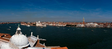 Panorama San Giorgio Maggiore Venice, Italy Royalty Free Stock Photos