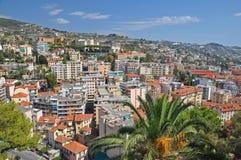 Panorama San Remo, Włochy zdjęcie royalty free