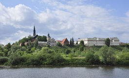 Panorama of Sandomierz Stock Photo