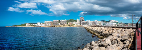 Panorama of Sant Antoni town. Ibiza Stock Photography