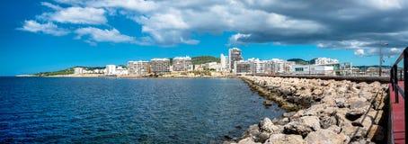 Panorama of Sant Antoni town. Ibiza Stock Photography