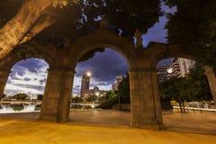 Panorama of Santa Cruz de Tenerife Royalty Free Stock Photos